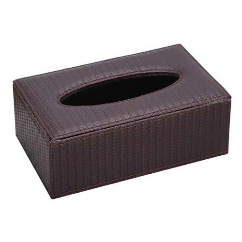 草席纹面巾纸盒