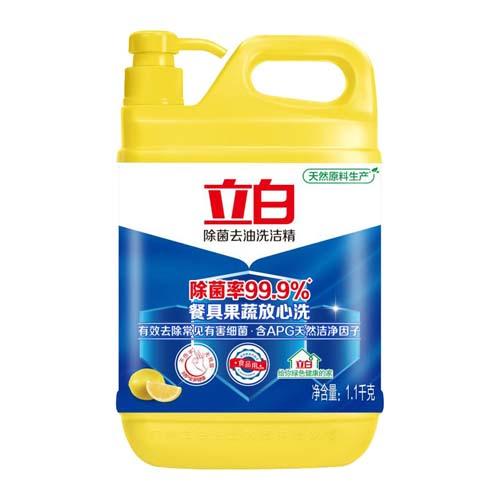 立白除菌洗洁精1.1kg